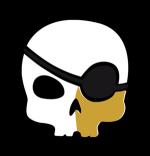 Logo nación pirata footer